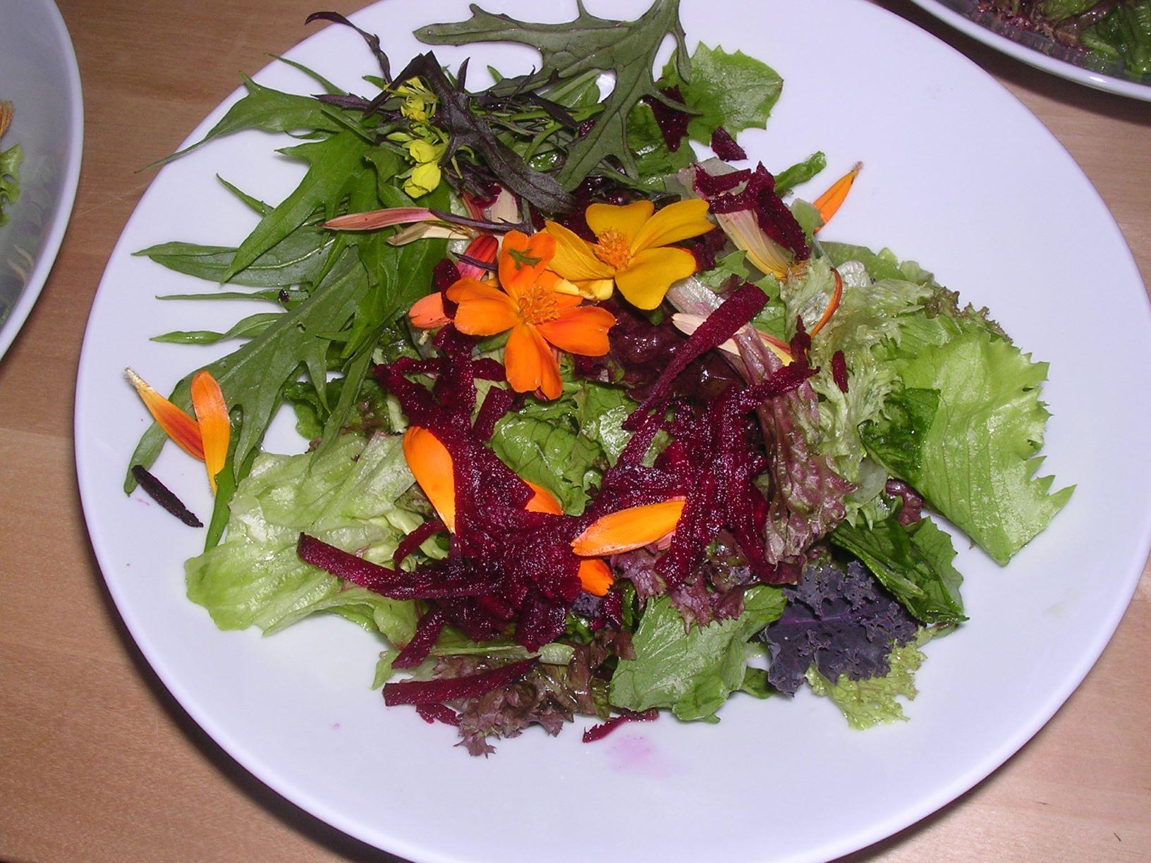 Salattallerken